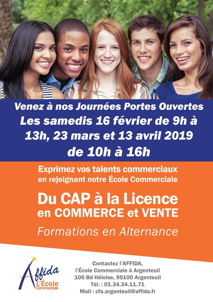 Affiche JPO Argenteuil